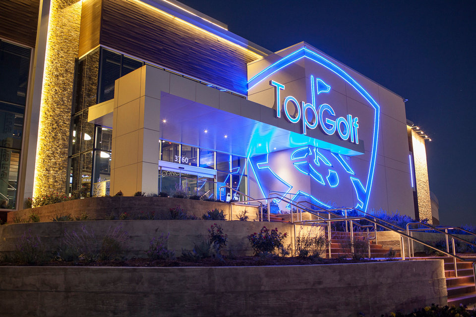 Photo - The Oklahoma City TopGolf will be modeled after the location in The Colony, Texas, which opened in November 2013, pictured here.