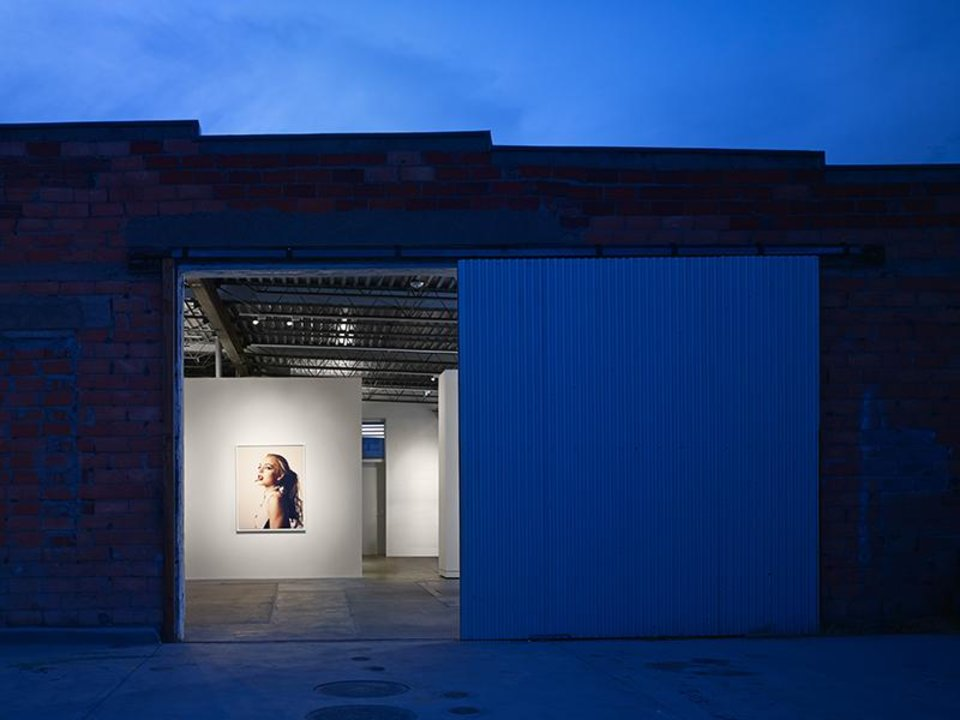 Photo -  A night view of Marfa Contemporary Gallery in Marfa, Texas, a satellite of Oklahoma Contemporary Gallery.    Scott McDonald -  PROVIDED BY ELLIOTT + ASSOCIATES ARCHITECTS