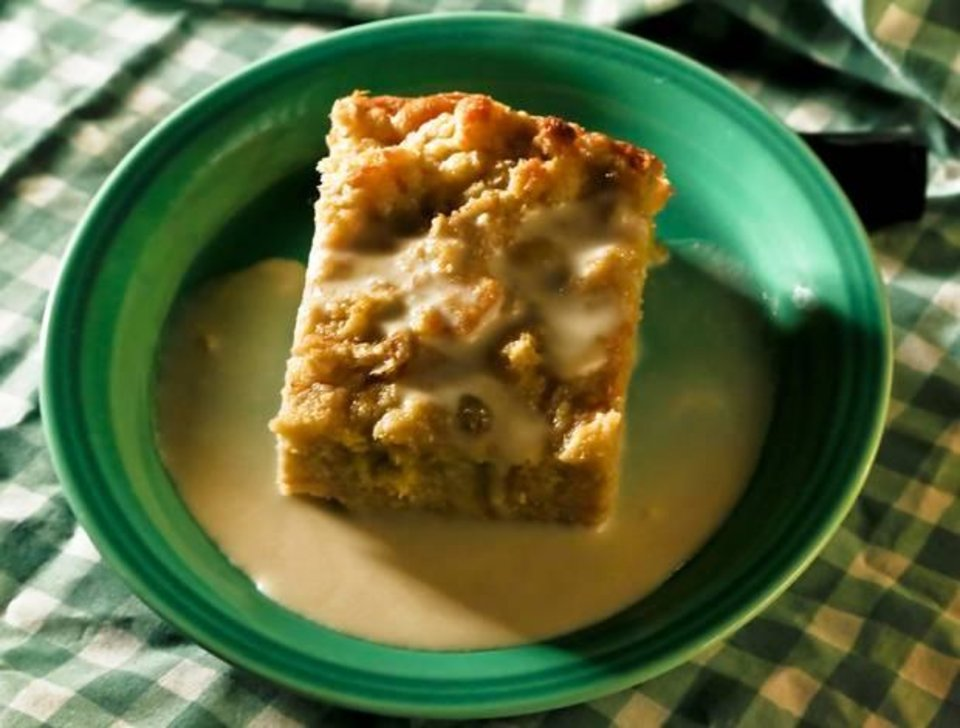 Photo -  Mmmm, Sherrel's Bread Pudding.