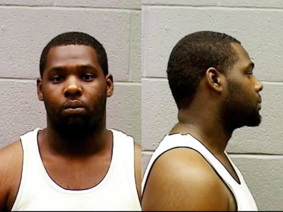 Photo - Reginald Keith Joseph Jr., who was shot and killed Thursday morning after kicking in the door of a Midwest City home. Photo Provided by the Midwest City Police Dept.