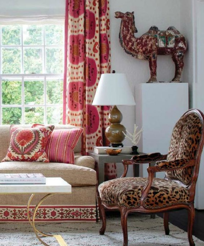 8. TRIBAL PATTERNS African influence is back. Think black and white, bold monochrome geometrics. Also, cultural influences inspired by Folklore — Eastern European, South American — will be a focus.  PHOTO COURTESY OF BRUNSCHWIG AND FILS
