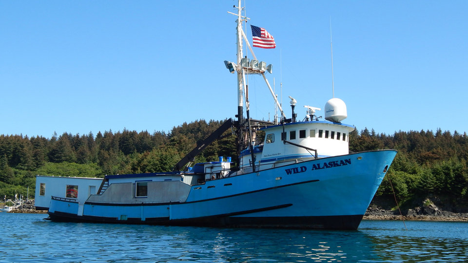 Photo - This undated handout photo provided by Alaskan Leader Tours, shows the converted fishing boat,