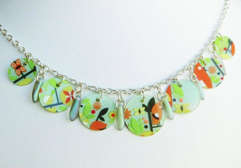 Photo - Necklace by artist Andrea Kissinger. Photo provided