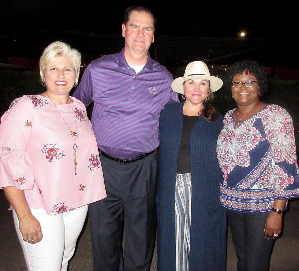 Photo - Sheli McAdoo Sean McDaniel, Traci McDaniel, Verna Martin. PHOTO BY HELEN FORD WALLACE, THE OKLAHOMAN