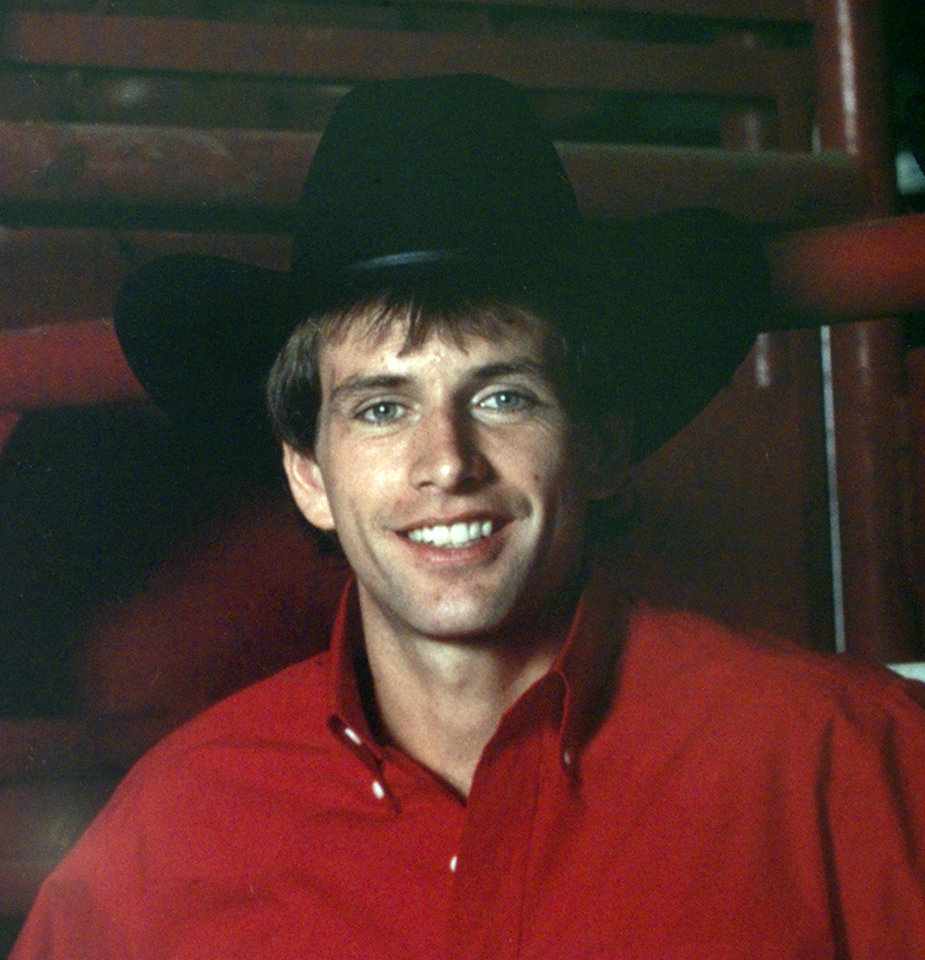 Photo - Copy photo of Lane Frost, bull rider. (deceased 07/30/89)