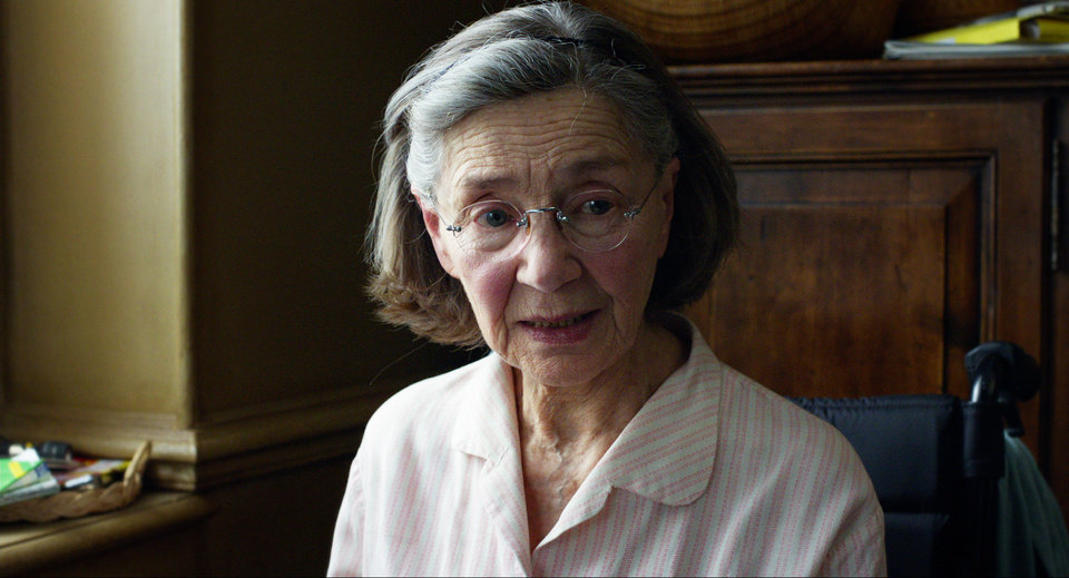 Photo - This image released by Sony Pictures Classics shows Emmanuelle Riva in a scene from