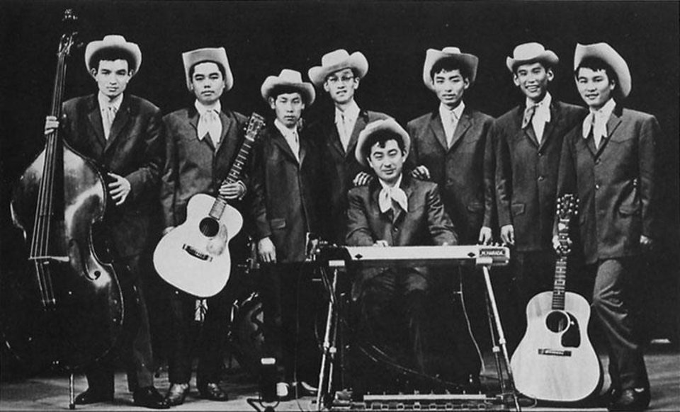 Photo -  One of the early country and western bands from Japan. Photo provided      -