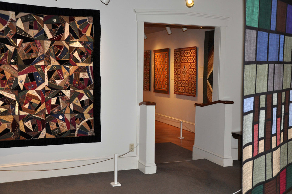 This 2012 photo released by The Quilt Museum at The Old Country Store shows quilts displayed as part of the