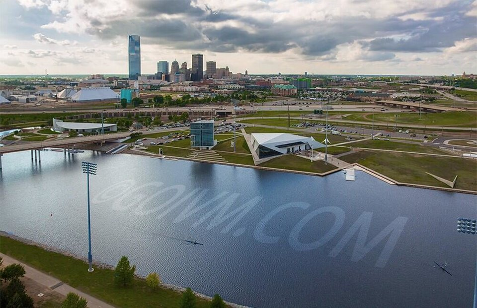 Great new photo of the Oklahoma River, copyright Cooper Ross, do not repost without permission.