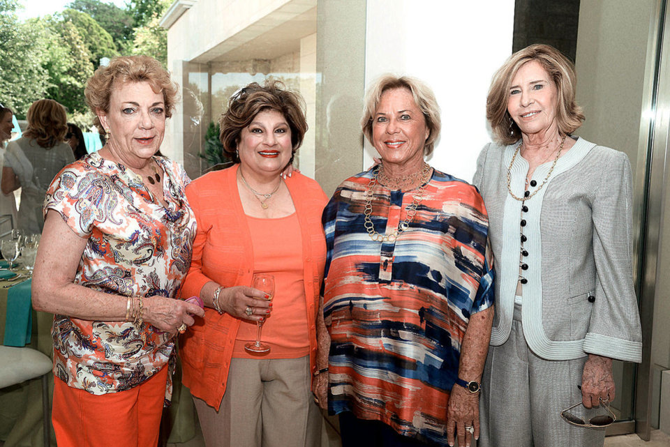 Photo - Barbara Beeler, Cindy Homsey, Jane Austin, Judy Kauffman. Photo by David Faytinger, for The Oklahoman