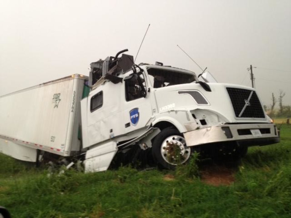 Photo - An image from I-40, west of Banner Road. Photo by Jim Beckel - The Oklahoman