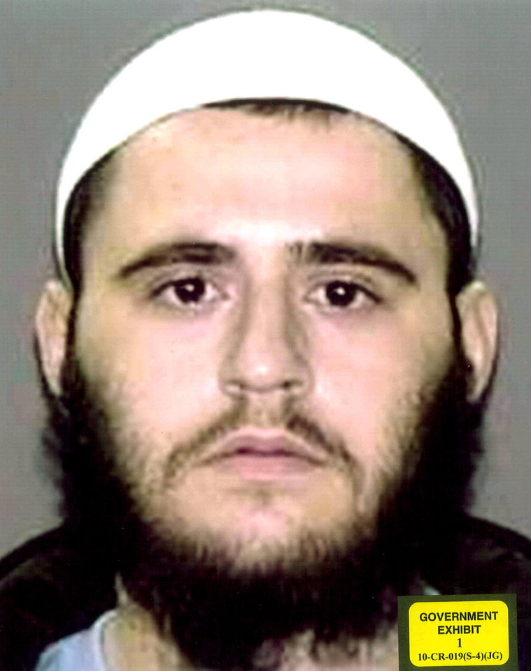 Photo -   In this photo provided by the U.S. Attorney's Office in Brooklyn, N.Y., Adis Medunjanin is shown. Medunjanin is on trial in New York, accused of getting terrorism training in Pakistan by al-Qaida, then returning home to plot attacks in New York. Medunjanin, along with high school classmates, Najibullah Zazi and Zarein Ahmedzay, after getting terror training at an al-Qaida outpost, discussed bombing New York City movie theaters, Grand Central Terminal, Times Square and the New York Stock Exchange before targeting the city's subways, a prosecutor said Monday, April 16, 2012. (AP Photo/U.S. Attorney's Office)