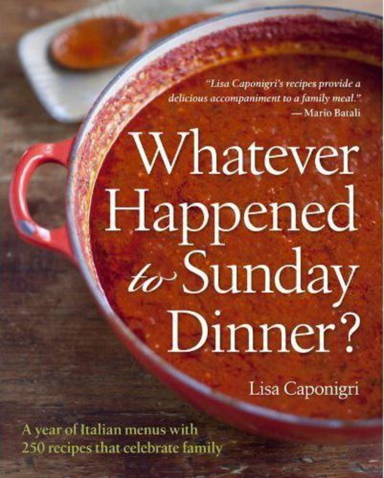 """Whatever Happened to Sunday Dinner"" would make a great holiday gift for use throughout the year. (Lexington Herald-Leader/MCT)"