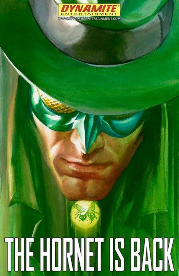"Promotional art for Dynamite's ""Green Hornet"" series. Dynamite. <strong></strong>"