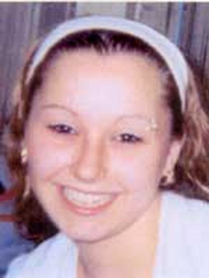 Photo - This image provided by the FBI shows an undated photo of Amanda Berry. The voice of the long-missing woman was frantic and breathless, choking back tears.