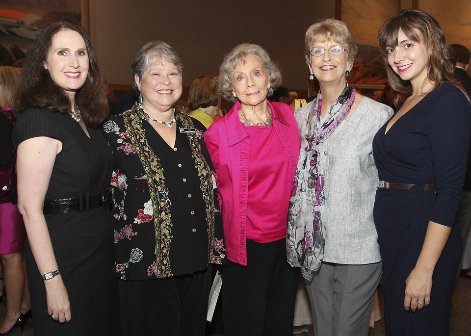 Vicki Hunt, Anita Fream, B.J. Law, Martha Skeeters, Lizzie Daniel. PHOTOS BY DAVID FAYTINGER, FOR THE OKLAHOMAN
