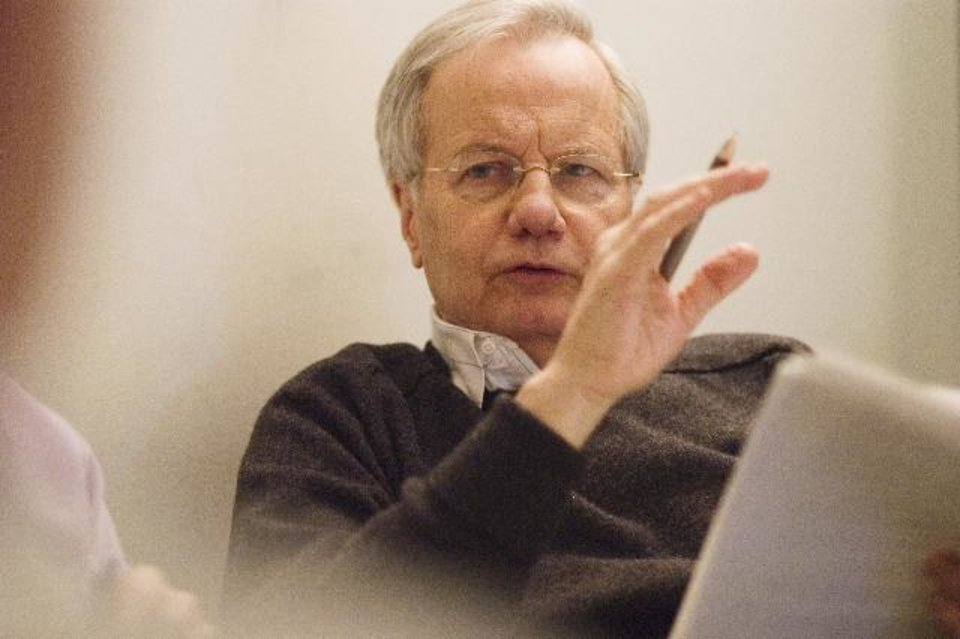 Photo -  Bill Moyers - Photo by Peter Krogh