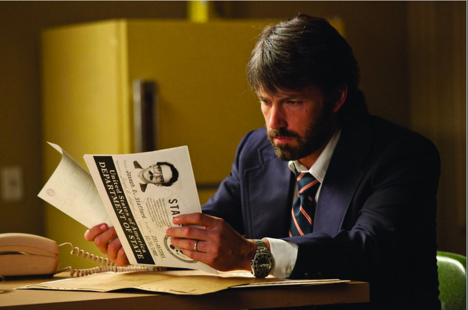 "MOVIE: Ben Affleck stars in ""Argo""      ORG XMIT: 1302181525417505"