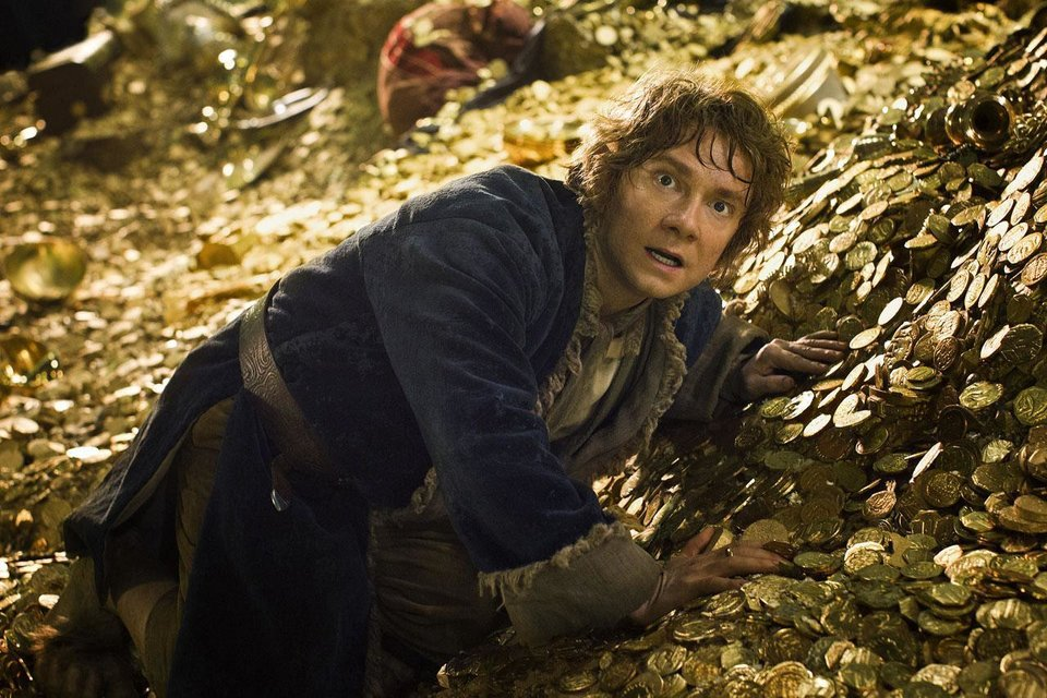 Photo - Martin Freeman again plays Bilbo Baggins in the sequel