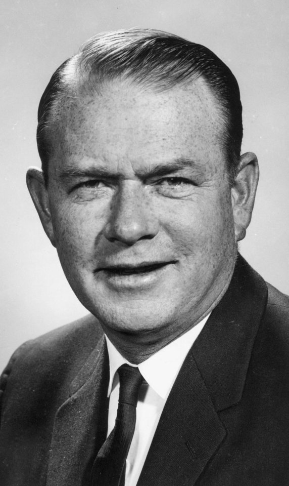Henry Bellmon, Governor of Oklahoma.  1/4/1965