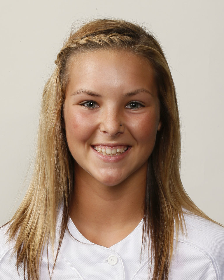 Photo - Tyler Lucas, Bethany softball player, poses for a mug shot during The Oklahoman's Fall High School Sports Photo Day in Oklahoma City, Wednesday, Aug. 15, 2012. Photo by Nate Billings, The Oklahoman