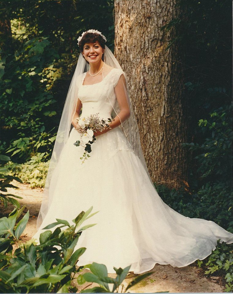 Photo - Mary Katherine Johnson Moran on her wedding day, June 29, 1985. Photo provided by Susan Crowder.