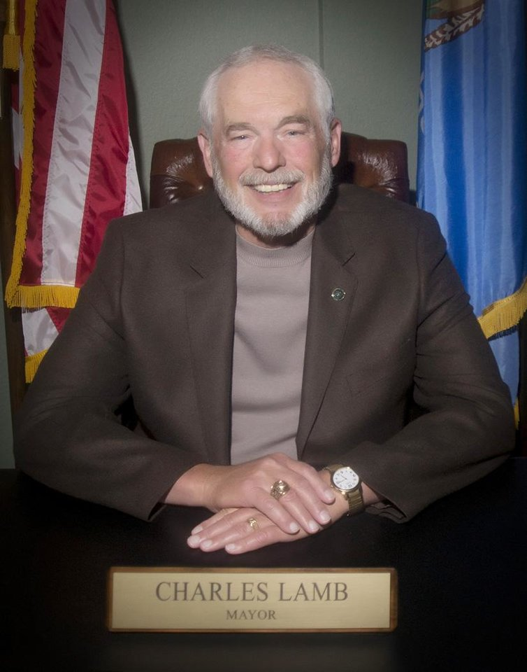 Photo -  Edmond incumbent Mayor Charles Lamb