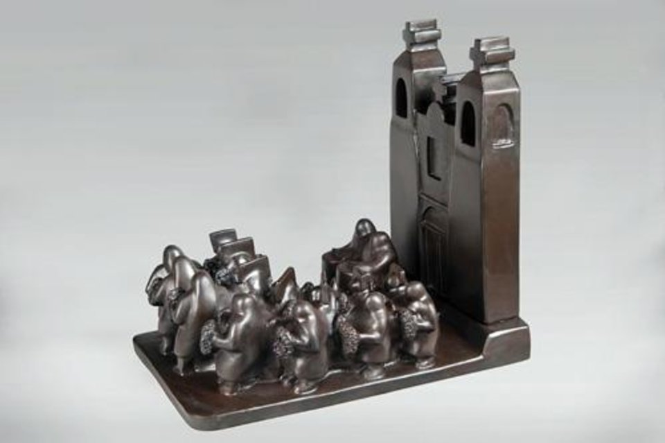 "Photo -  ""Midnight Dancers,"" bronze, priced at $7,000, by Doug Hyde. Photo provided    Photo Provided"