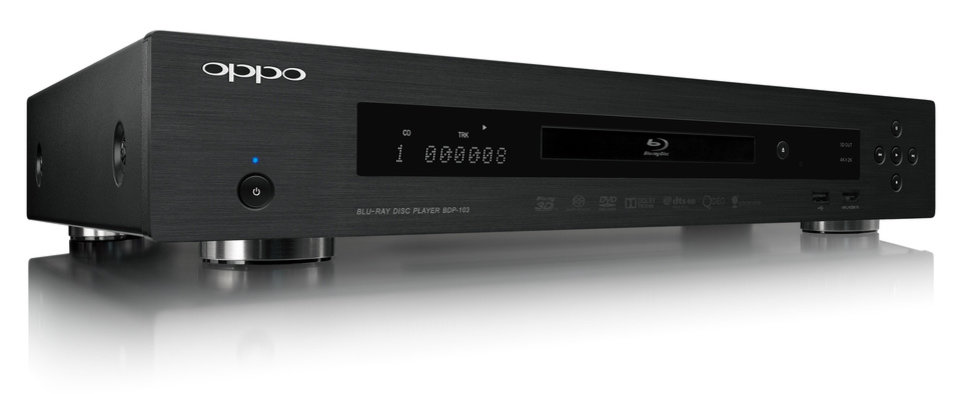 Photo - The Oppo BDP-103 Blu-ray player is one of -- if not -- the best Blu-ray players on the market. Photo provided.