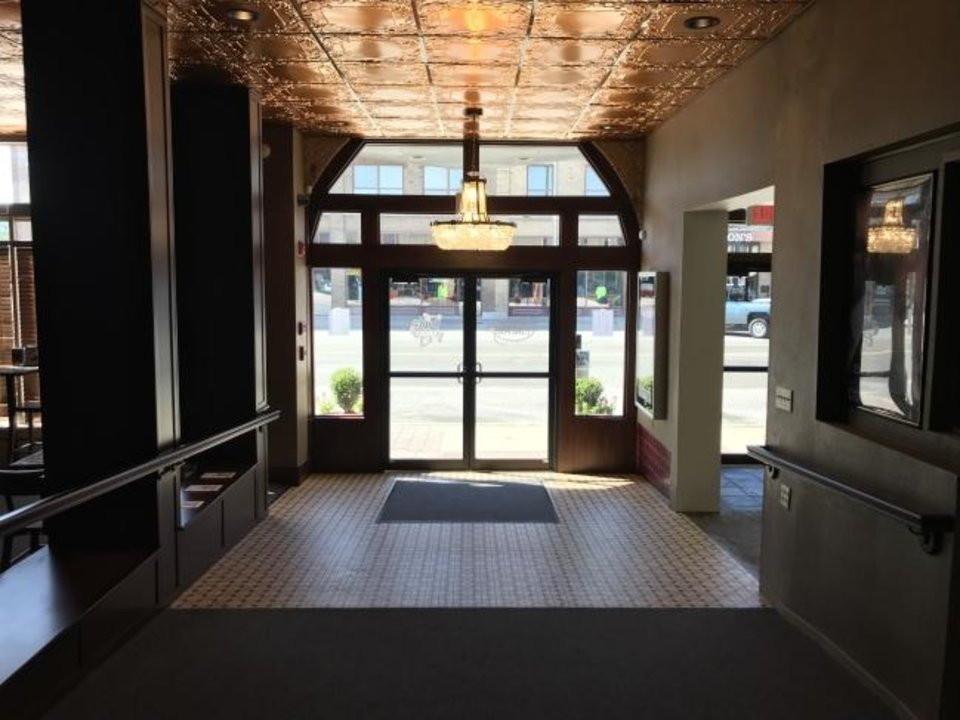 Photo -  This is the entrance to Rodeo Cinema. [Photo provided]