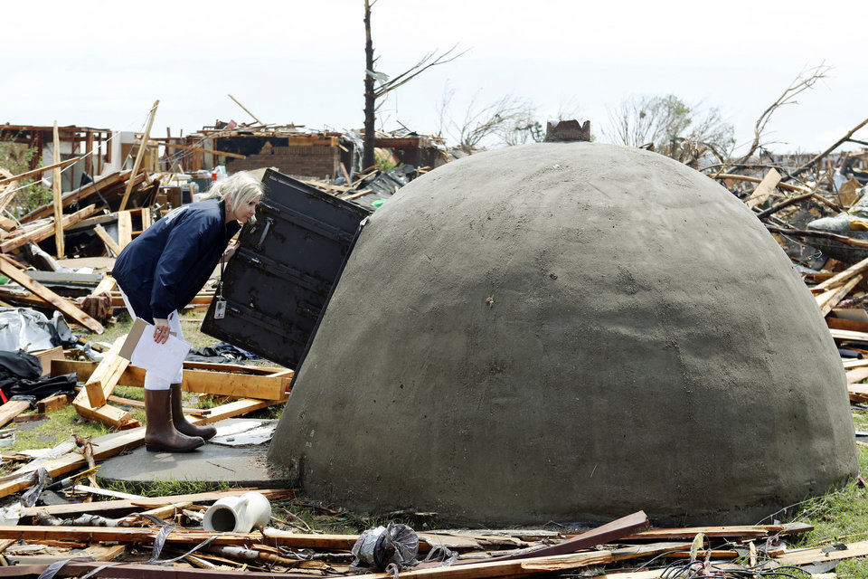 Oklahoma Tornadoes Aboveground Shelters Stood Up In Face