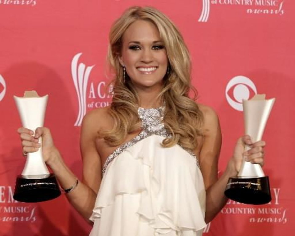 Photo - Carrie Underwood is seen in this October 2008 AP photo.
