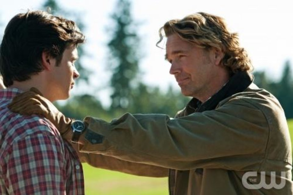 """Photo -  """"Lazarus"""" -- Tom Welling as Clark Kent and John Schneider as Jonathan Kent in SMALLVILLE, on The CW Network.  Photo: Jack Rowand/The CW ©2010 The CW Network, LLC. All Rights Reserved."""