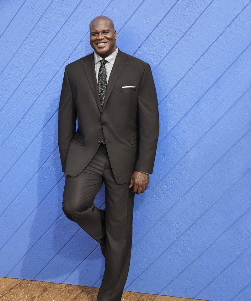 Photo - Shaquille O'Neal's new big & tall menswear will land in J.C. Penney stores Sept. 12.
