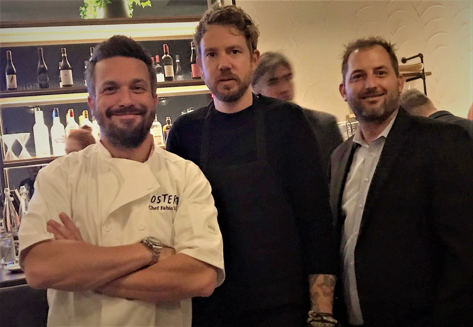 Photo -  Chefs Fabio Viviani and Jonathon Stranger have partnered with Drew Tekell to open Osteria Craft Cocktails and Casual Eatery in Nichols Hills Plaza. [Photo by Dave Cathey, The Oklahoman]