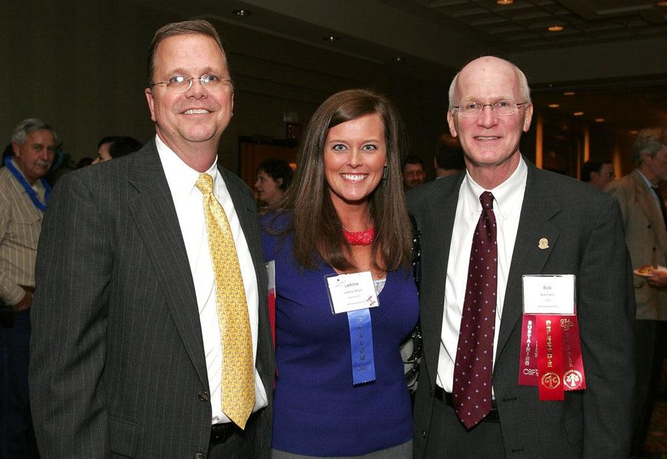 Alan Souter, LeAnne McGill, Bob Farris.	BY DAVID FAYTINGER, FOR THE OKLAHOMAN