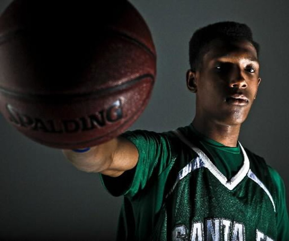 Will Josh Richardson overtake Ryan Spangler for NewsOK.com Boys Player of the Year?