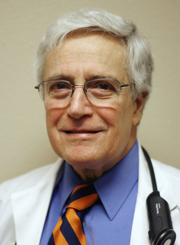 Photo - Dr. Carl Rubenstein, a clinical professor of medicine at the University of Oklahoma and a partner in the Oklahoma Cardiovascular Associates.