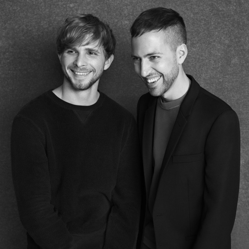 Peter Pilotto and Christopher De Voss, designers behind the label Peter Pilotto.