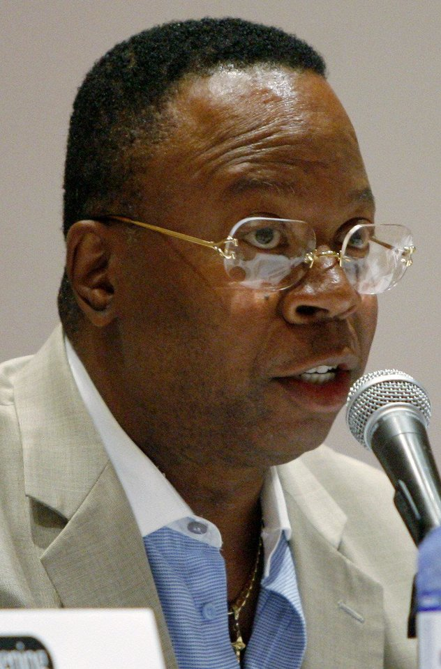 Photo - John Q. Porter 2007-08; resigned amid allegations of wrongdoing, though a six-week investigation by the district attorney cleared him of any criminal activity.