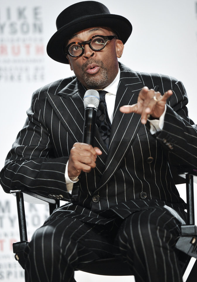 Photo -   Director Spike Lee talks about his Broadway directorial debut
