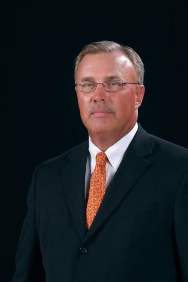 Photo - Associate head coach Jim Littell is seen in this file photo. Littell has been named interim head coach.
