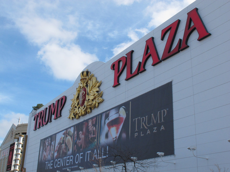 Photo - This Dec. 9, 2011 file photo shows the exterior of Trump Plaza Hotel and Casino in Atlantic City N.J. The casino's parent company said on Saturday July 12, 2014 that it expects to close Trump Plaza on Sept. 16. It would be the third Atlantic City casino to shut down this year.(AP Photo/Wayne Parry, FILE)