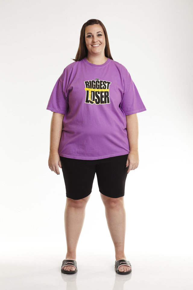 "A photograph of Hannah Curlee when she was chosen to be on ""The Biggest Loser"" Season 11. She dropped from 248 pounds to 128 pounds. PHOTO PROVIDED. <strong>Trae Patton - PHOTO PROVIDED</strong>"