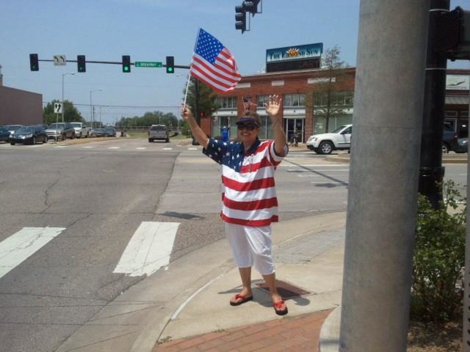 CORRECTED: Edmond Republican Women Celebrate Flag Day