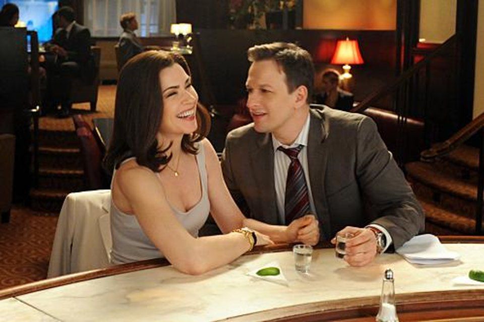 """Closing Arguments"" -- Despite their tense relationship, Alicia and Kalinda rush to prove their clientâ��s innocence in a murder trial, while the timing might be finally right for Alicia (Julianna Margulies) and Will (Josh Charles) to pursue their relationship, on the second season finale of THE GOOD WIFE, Tuesday, May 17 (10:00-11:00 PM, ET/PT) on the CBS Television Network. Photo: David M. Russell/CBS �©2011 CBS Broadcasting Inc. All Rights Reserved."