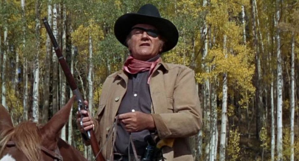 Photo - John Wayne appears in the 1969 film