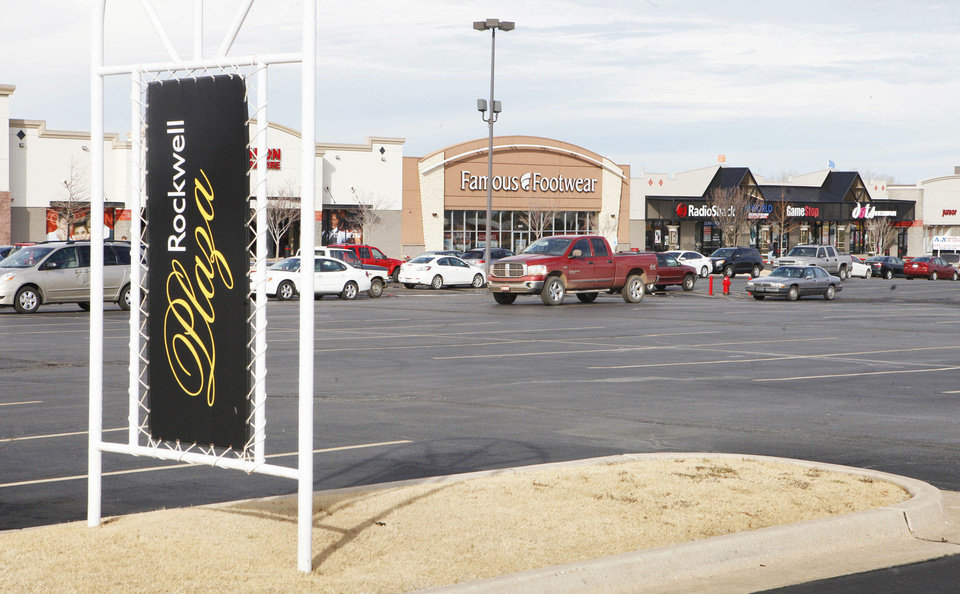 Photo - Inland American paid $31 million for the 254,690-square-foot Rockwell Plaza Shopping Center. PHOTO BY PAUL B. SOUTHERLAND, The Oklahoman