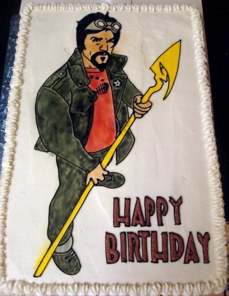 Happy Birthday, James Robinson! (Cake by Annette Price)