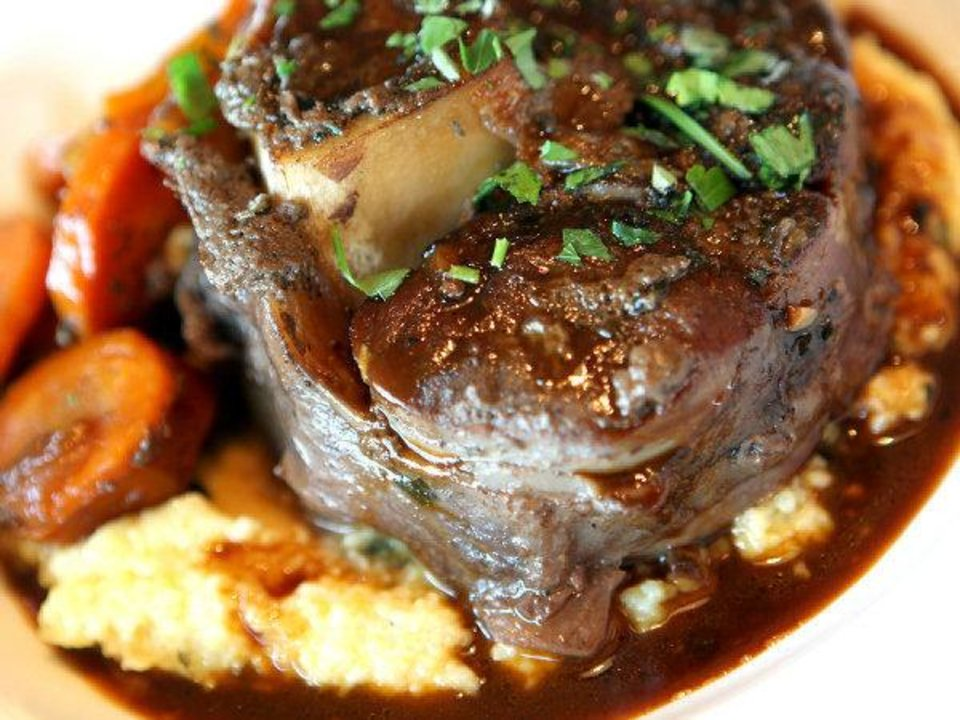 Osso Bucco, a veal entree, at Stella Modern Italian Cuisine in Oklahoma City. Photo by John Clanton, The Oklahoman <strong>John Clanton</strong>